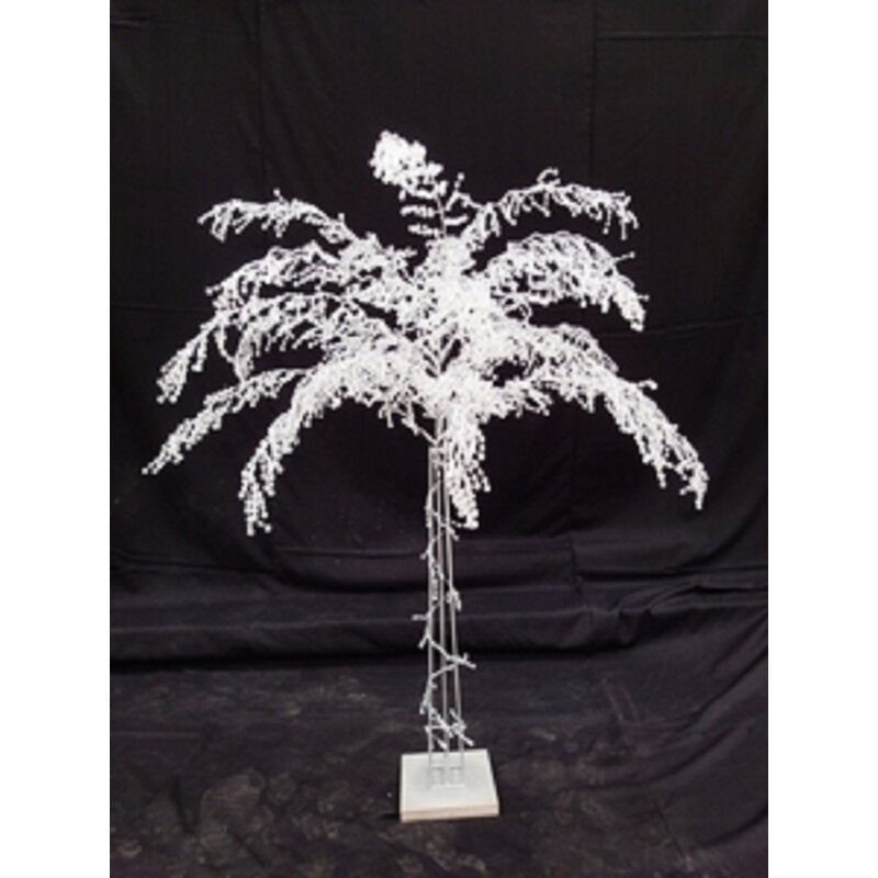 Clear 5'H Crystal Iron Stand Tree With Base - Galt International