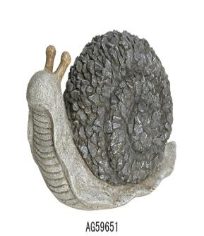 Polyresin Stone Looking Snail
