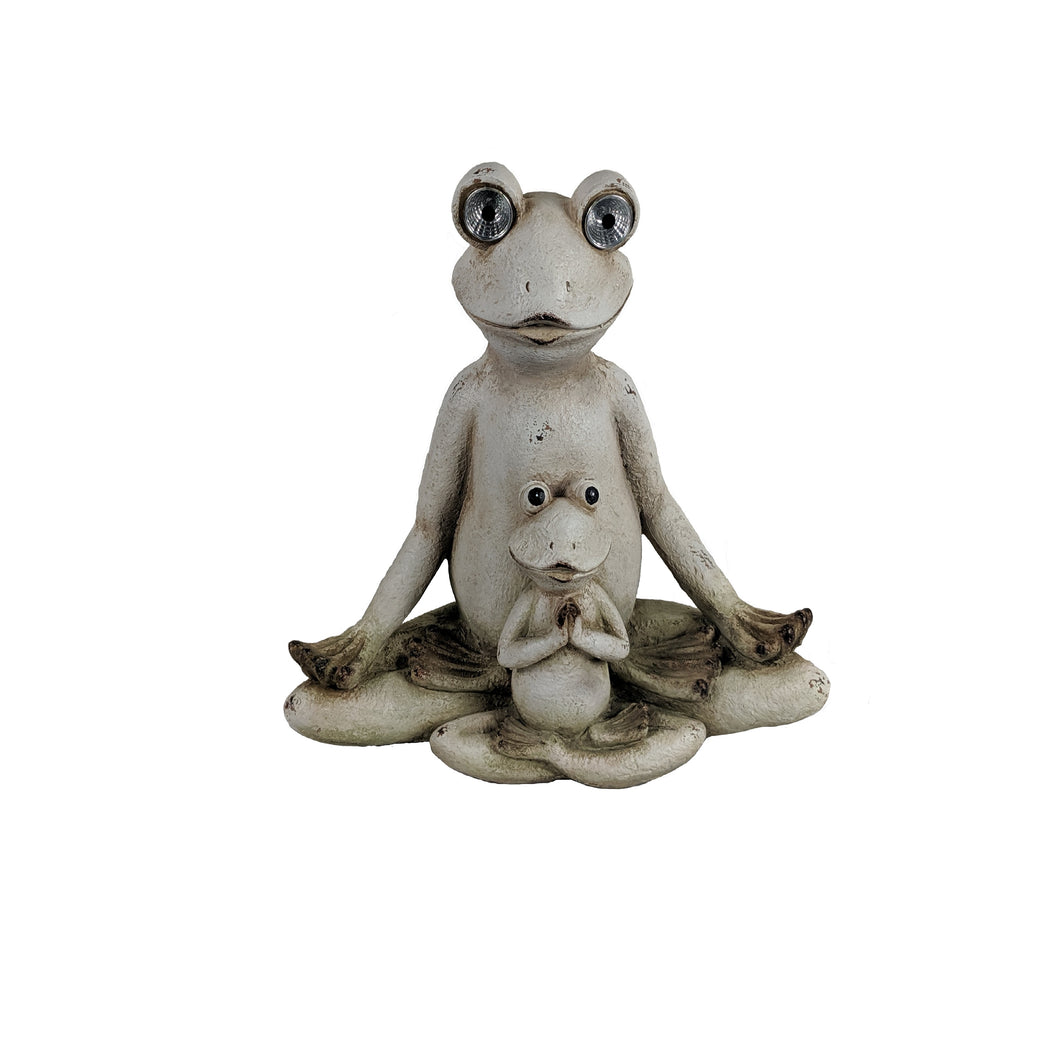 Magnesium White Frogs/Solar Light
