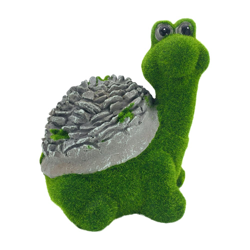 Green Moss Finish Garden Turtle