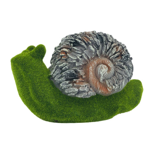 Green Moss Finish Garden Snail