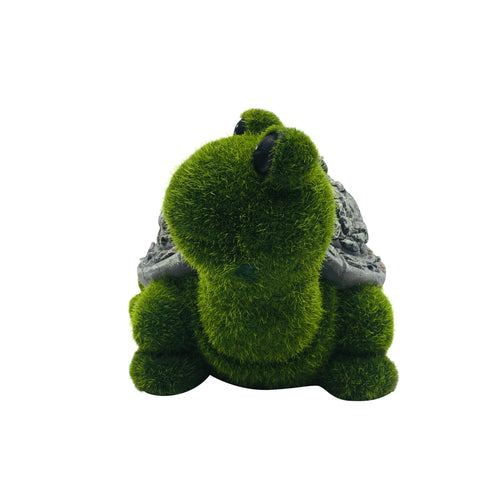 Green Moss Turtle Garden Decoration