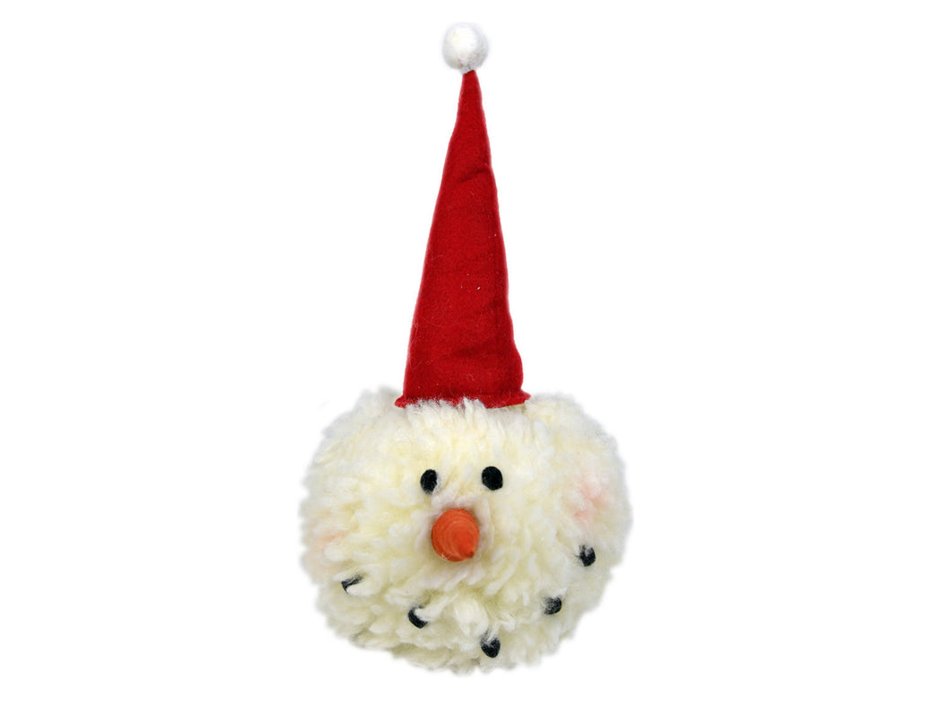 Snowman Head Stuffed Holiday Accent, [product_type], Galt International, galt-international.myshopify.com, [variant_title]