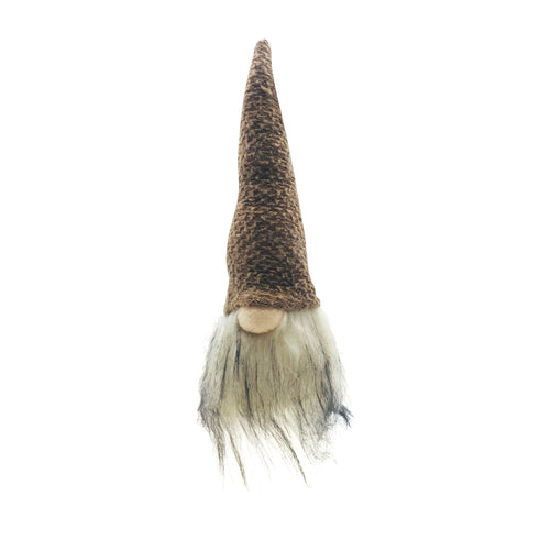 Fabric Gnome Hanging Brown