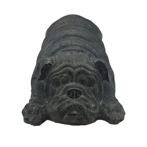 Sleeping Bulldog Garden Decor