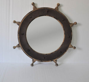 "Wooden Wall Mirror Decor 34-1/4X2-1/4X34-1/4"" 0/1Pc"