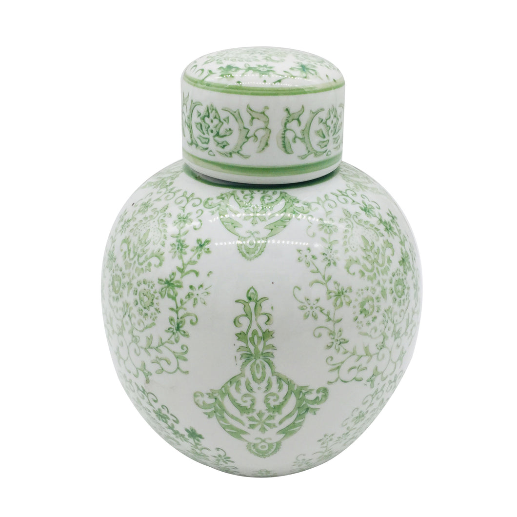 Ceramic Chinoiserie Jar