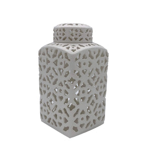 "12"" Lattice Ginger Jar"