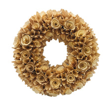 "Load image into Gallery viewer, 18"" Woodchip Wreath - Galt International"