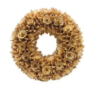 "18"" Woodchip Wreath - Galt International"