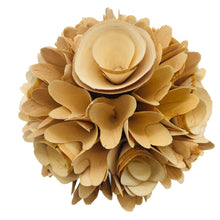 Load image into Gallery viewer, Natural Woodchip Flower Bundle in Ceramic Pot