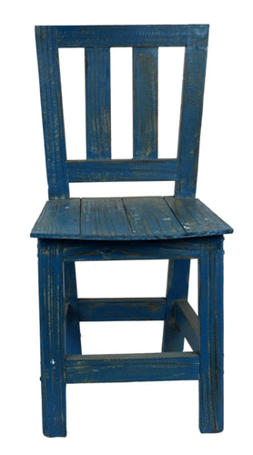 Deep Blue Chair for Pots & Planters