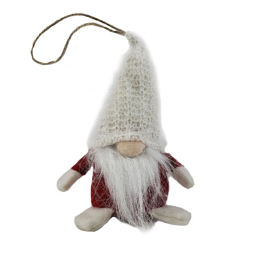 Fabric Gnome With Loop Hanger