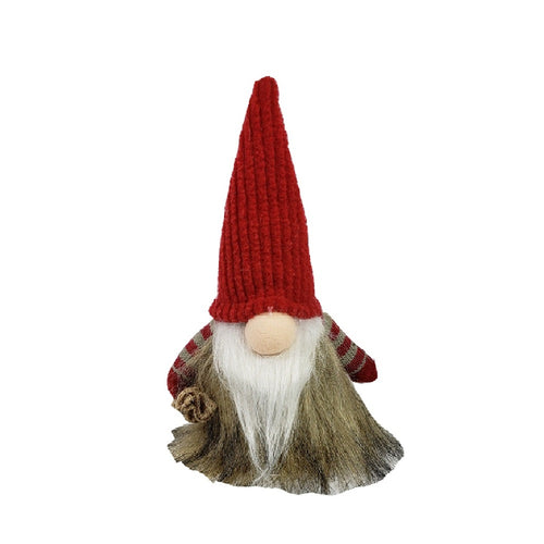 Red Fabric Gnome
