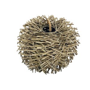 Brown Willow Planter