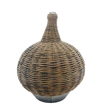 Load image into Gallery viewer, Brown Woven Willow Jar Decor