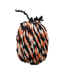 Load image into Gallery viewer, CONTEMPORARY ACRYLIC TWISTED YARN BRAIDED FABRIC PUMPKIN - Galt International