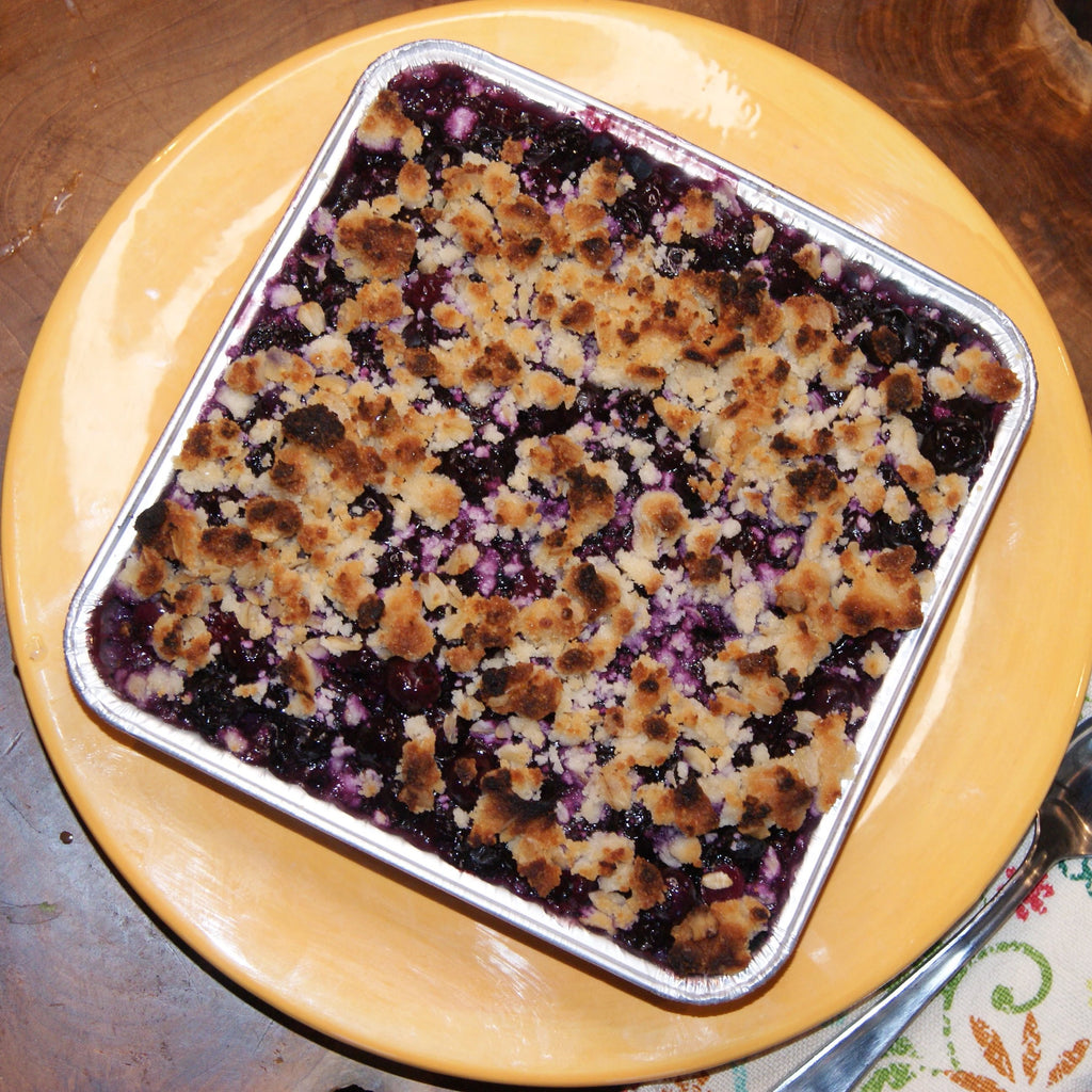 Lemon Blueberry Crumble