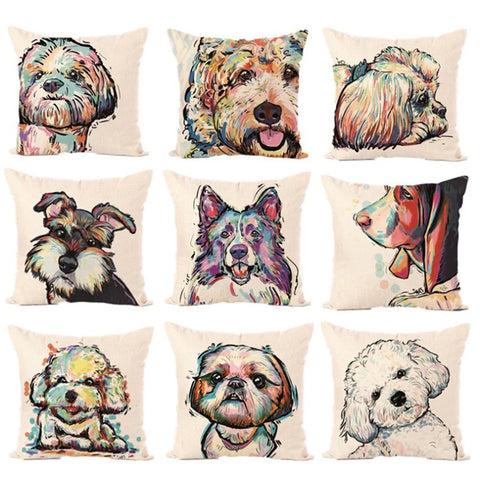 Pawvengers The Angelic Dog Pillow Case