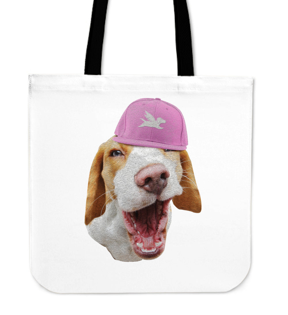 Tote Bag | Mischievous Beagle - 5 Colors