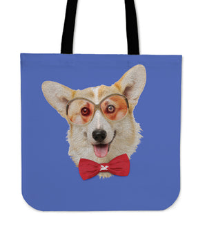Tote Bag | Professor Corgi - 5 Colors