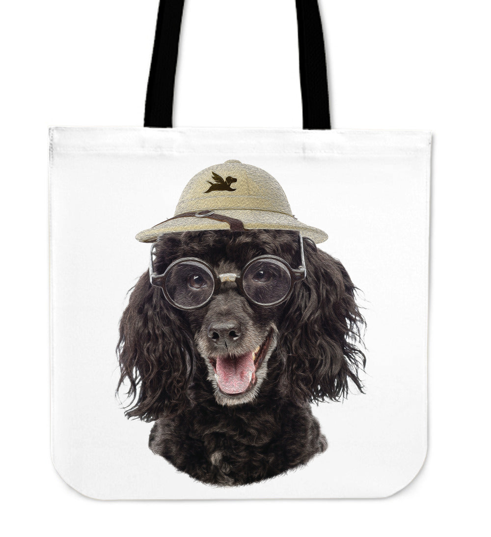 Tote Bag | Poodle The Explorer - 5 Colors