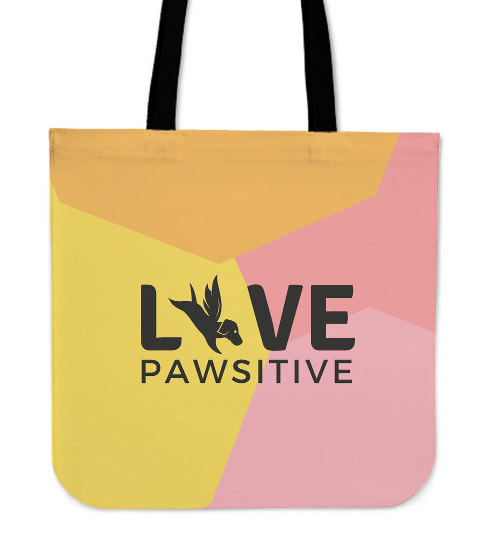 Tote Bag | Live Pawsitive - Molly Print