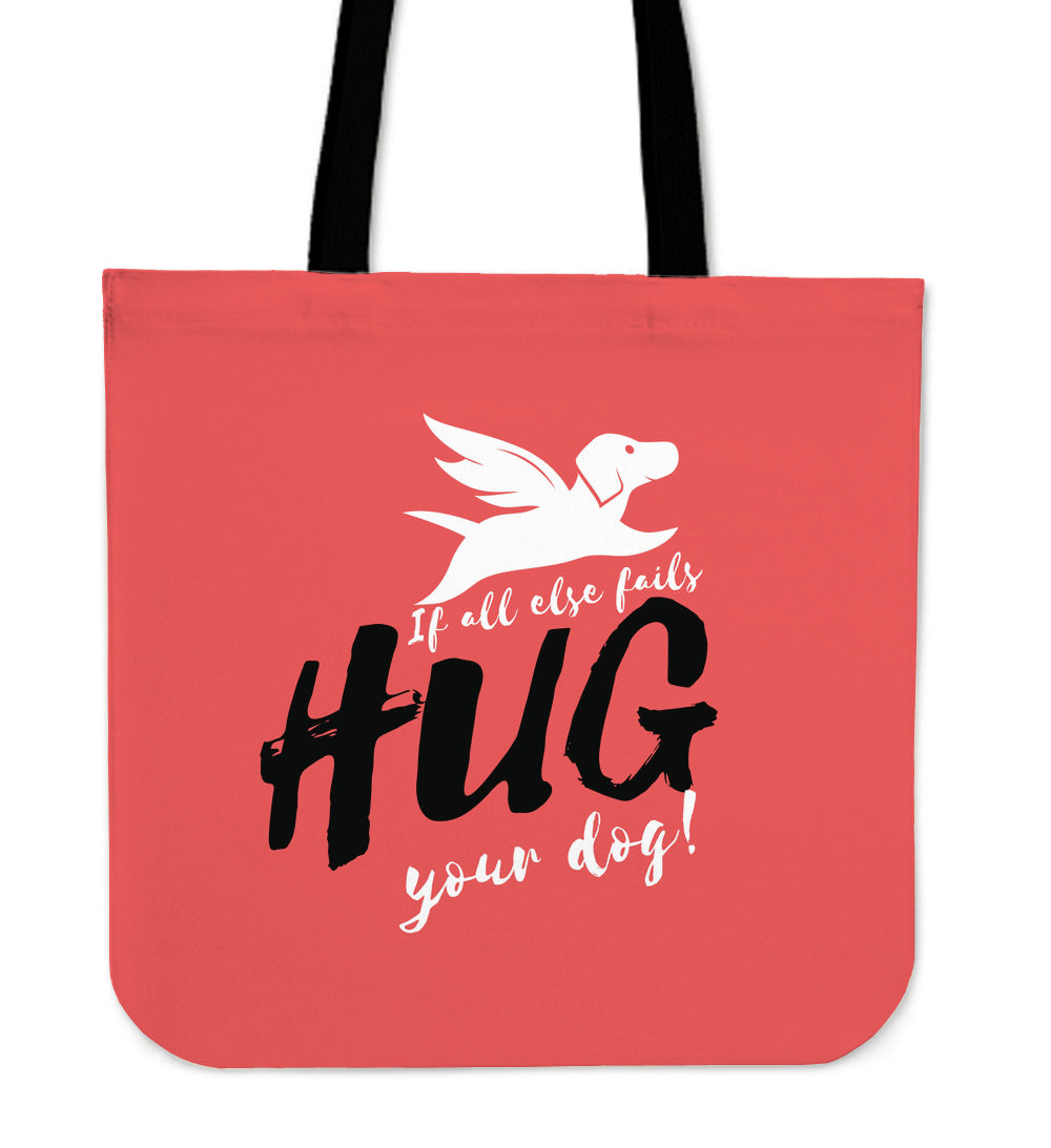 Tote Bag | Hug Your Dog - 4 Colors