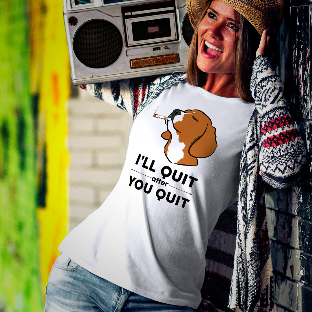 Women's Pawvengers Best Selling T Shirt | I'll Quit After You T-Shirt
