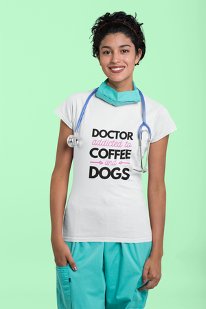 Women | Doctor Addicted to Coffee & Dogs