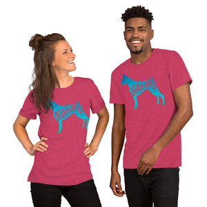 Women's Dog Breed T Shirt | Brave Boxer Tee