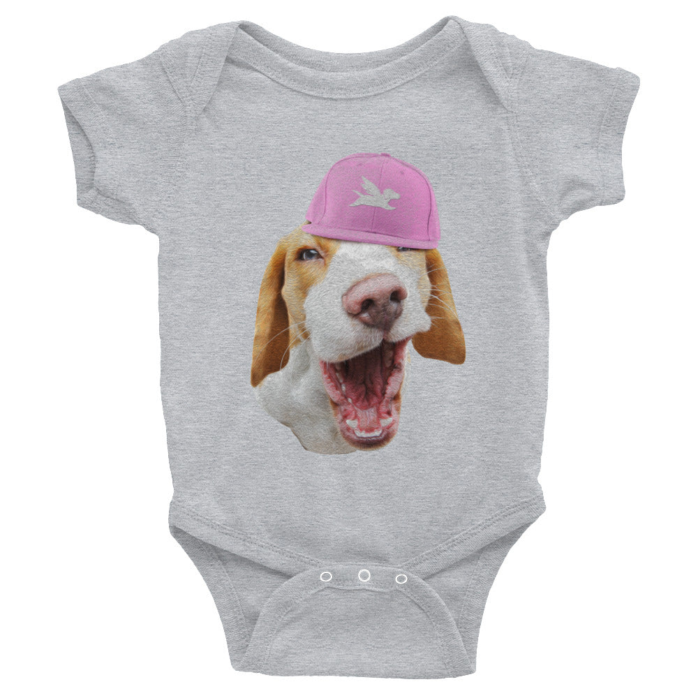 Babies | Beagle in Pink Cap - 4 Colors