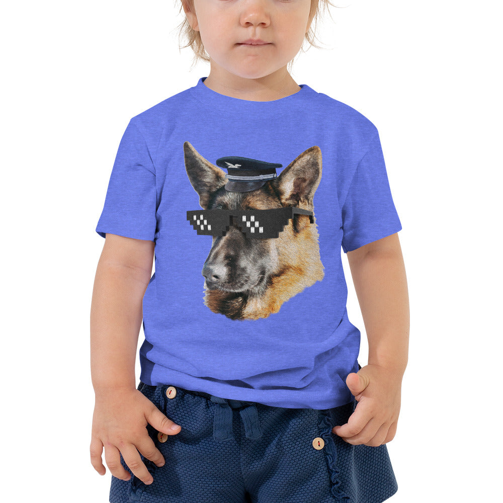 Toddler Tee | Captain German Shepherd