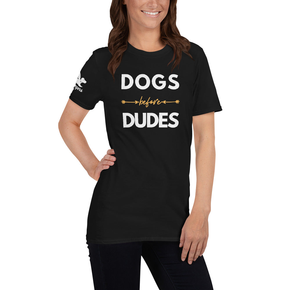Women | Dogs Before Dudes T-Shirt