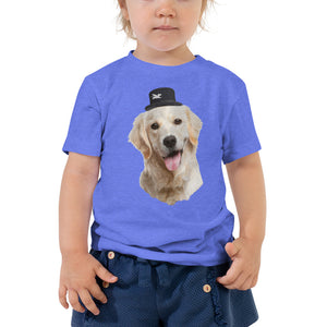 Toddler Tee | Golden Retriever Magician
