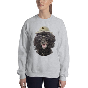 Sweatshirt | Poodle with Glasses