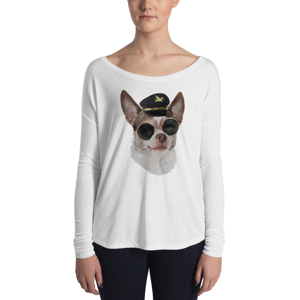 Long Sleeve | Captain Chihuahua
