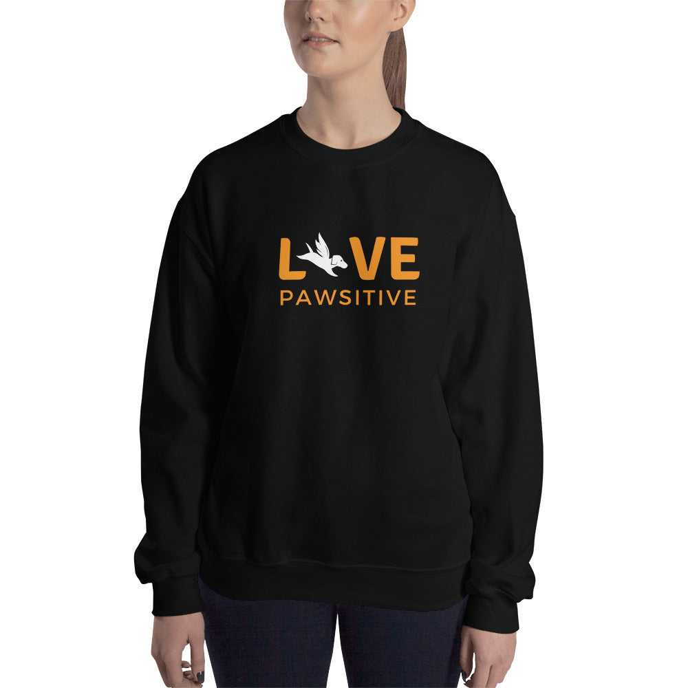Sweatshirt | Live Pawsitive
