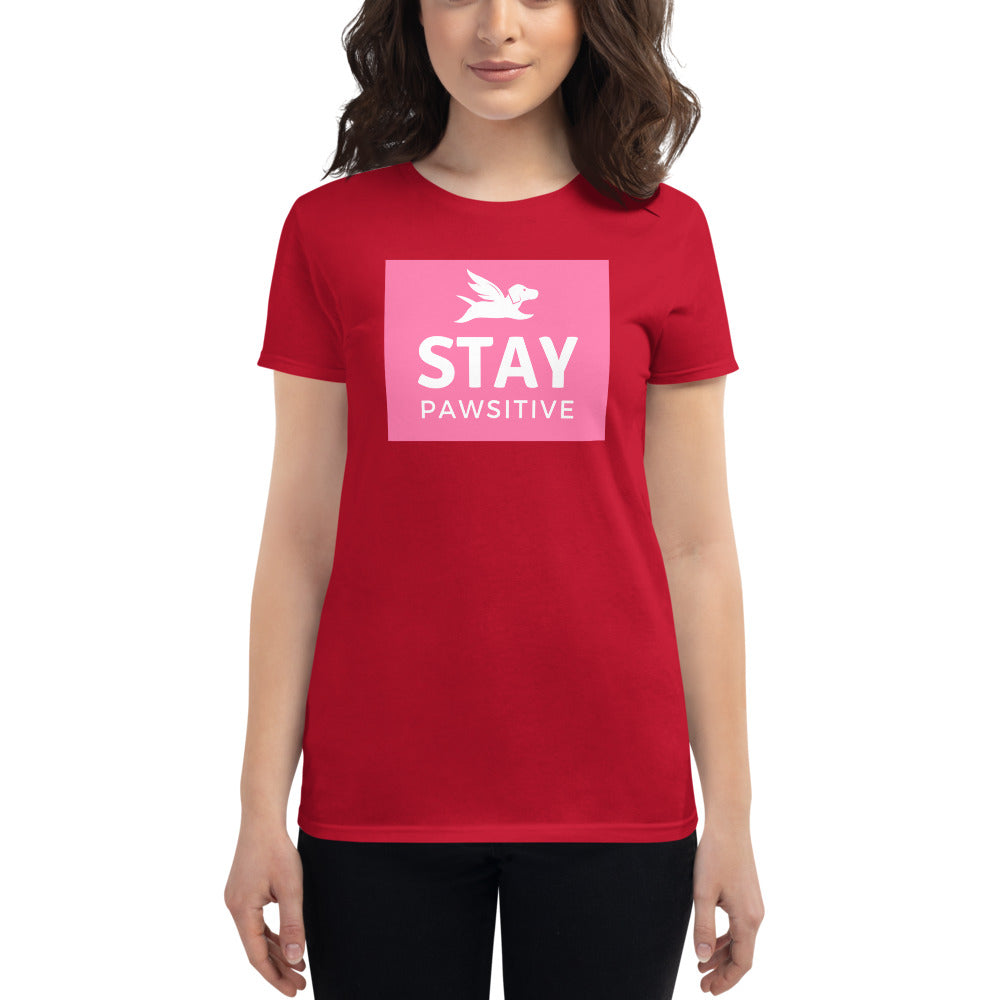 Women's Fit | Stay Pawsitive