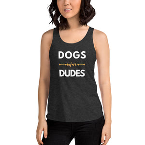 Women | Dogs Before Dudes Tank Top
