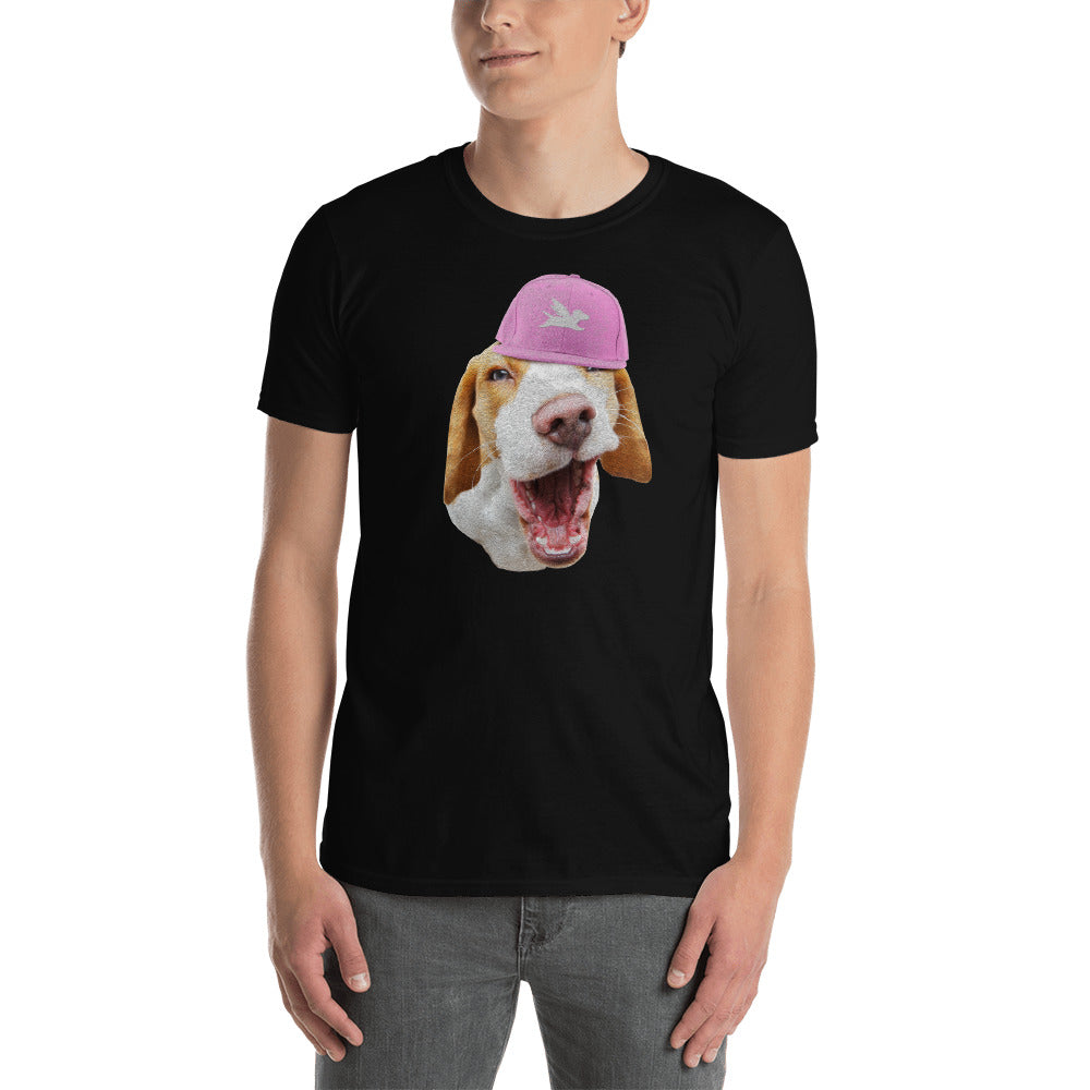 Tee | Beagle in Pink Cap