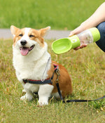 For Pets | Portable Hybrid Water Bottle and Food Container