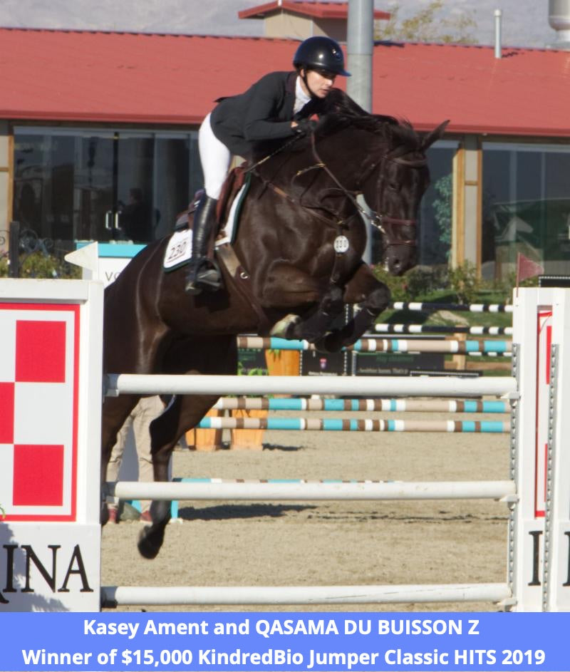 kasey ament jumping at desert international horse park