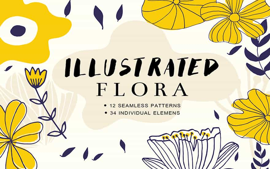 Fabulous Hand Drawn Pattern Bundle-Graphics-Artixty