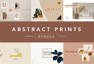 The Abstract Print Illustration Bundle-Graphics-Artixty