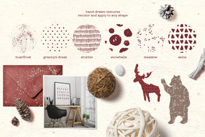 Nordica - Beautiful Rustic Design Pack-Graphics-Artixty