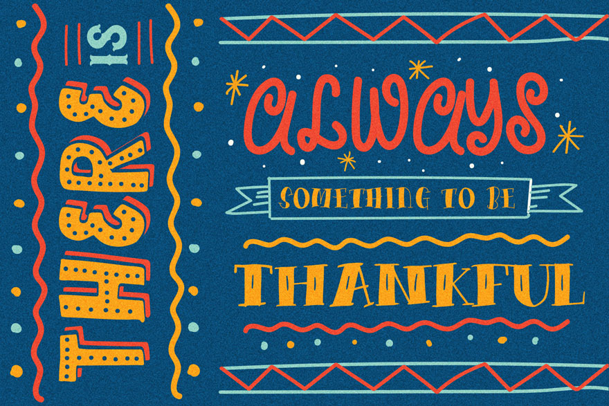 Happy Holiday Hand Written Font Collection-Fonts-Artixty