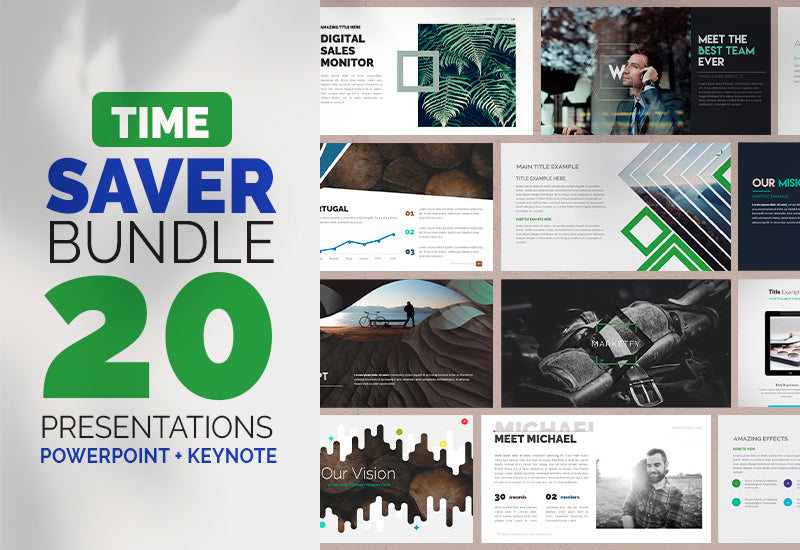 The Time Saver Bundle - 20 Premade Templates-Templates-Artixty