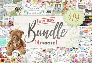 14-In-1 Mega Creative Bundle By Eva Katerina-Graphics-Artixty
