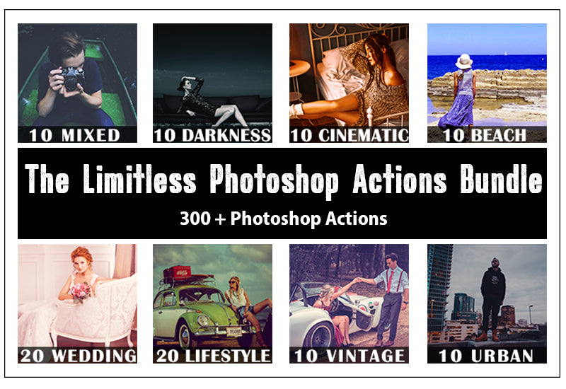 The Limitless Photoshop Actions Bundle-Add-Ons-Artixty